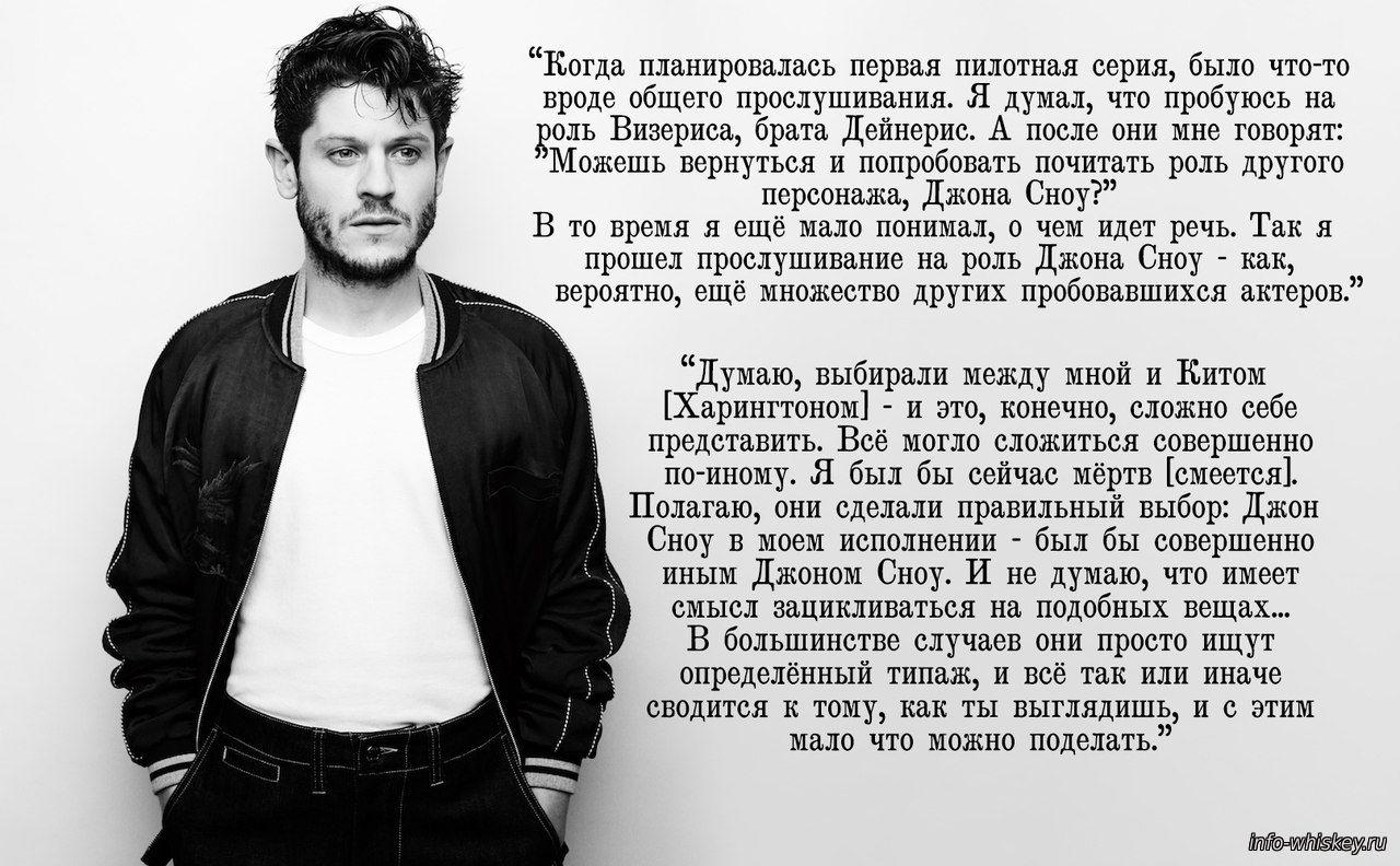 Игра престолов. Иван Реон (Рамси Болтон) для Interview ...
